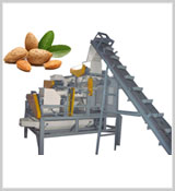 Almond Cracking Shelling Machine, Palm Kernel Shelling Machine, Oat Seeds Hulling Line, Cashew Nut Processing Line