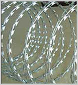 Concertina Barbed Wire, Razor Barbed Wire, Metal Conveyor Belts, Adjustable Span, Chain Link Fences, Concrete Mixer Etc.